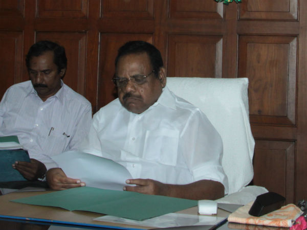 TN Government advocate general Vijay Narayan had discussion with Speaker today