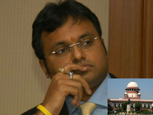 Karti closed foreign accounts, transferred money abroad, CBI in SC