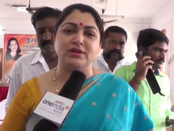நடிகர் கமல்ஹாசன் கட்சி தொடங்கி அழைத்தாலும் சேரமாட்டேன்: குஷ்பு