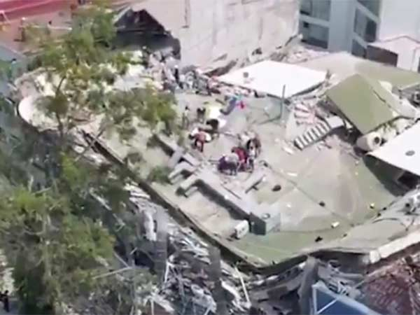 Earthquake killed scores and collapsed buildings in Mexico