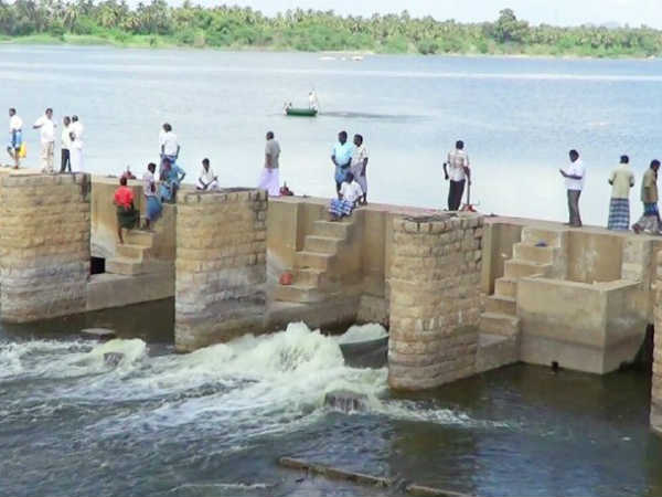 Water opened for agriculture in Rajavaikkal