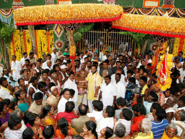 Tirupati umbrellas procession begins on Sep 21