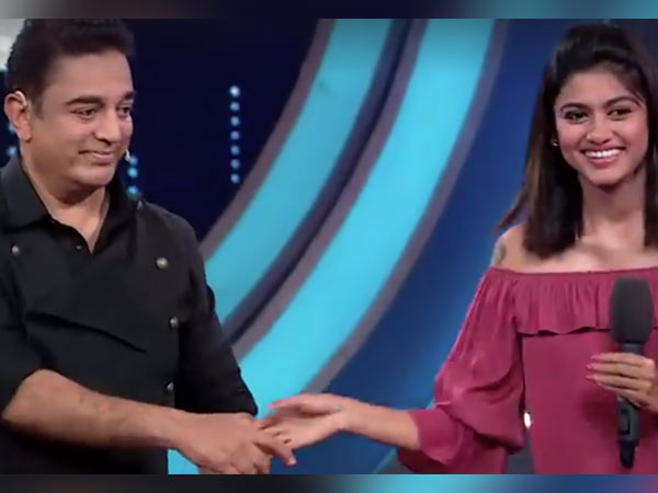 Bigg Boss Oviya extends her support to Kamal Haasan