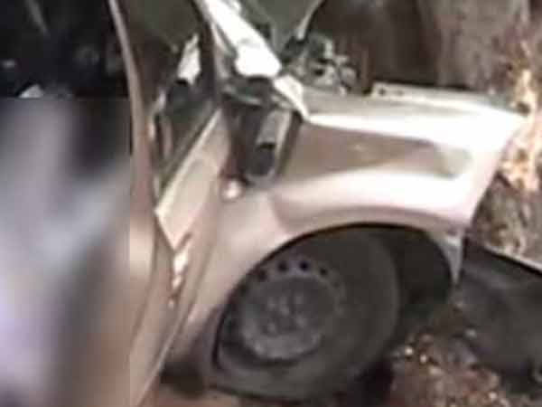 Luxury car accident at DGP office in Chennai