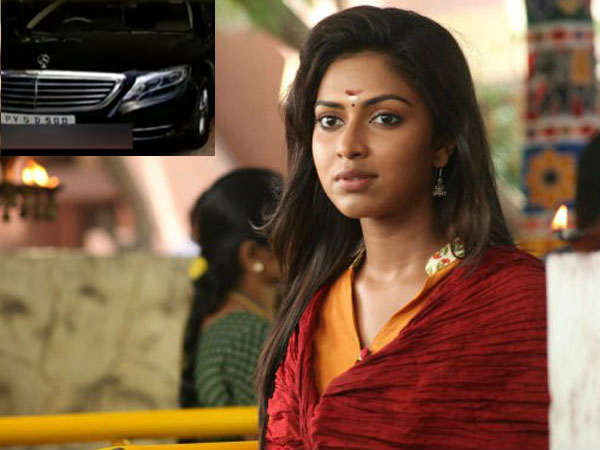 Actress Amala paul gave forgery address to buy a car