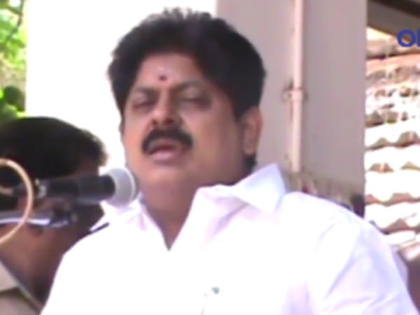 Minister Manikandan's controversial talk on government officials