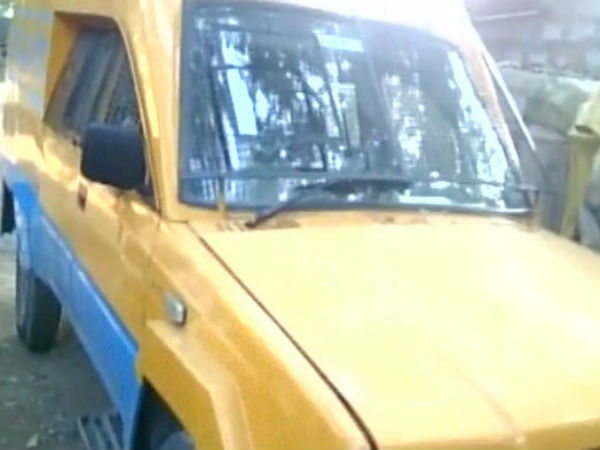 ATM Van abducted in Banglore