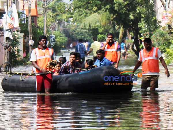 NDRF teams are getting ready to tackle the rainy situation