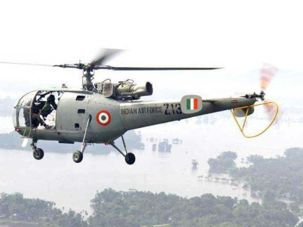 Video showing crashing IAF Helicopter got released