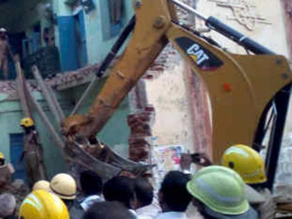 In Nagai one more govt building collapsed