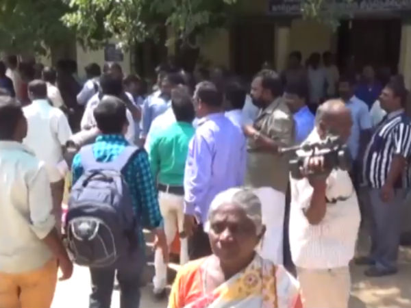 Kathu vatti suicide attempts continues in collector offices