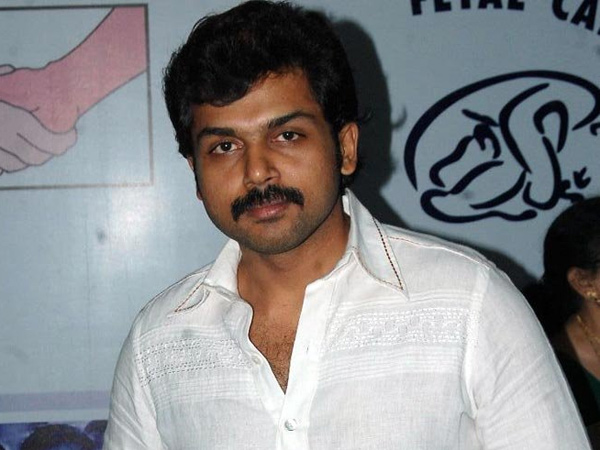 Actor Karthi says that Cricket competition will start in the January month