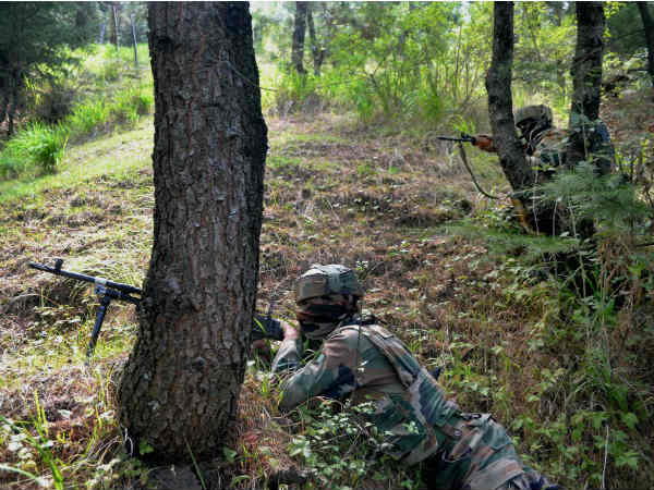 Two soldiers and two terrorists killed in Jammu Kashmir encounter