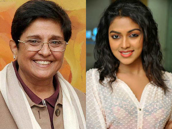 Kiran Bedi orders probe in Amala Paul care registration issue