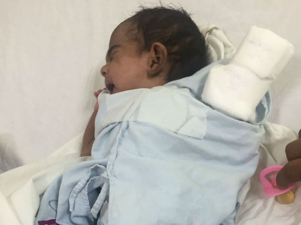 This 60-Day-Old Boy Needs Funds To Survive