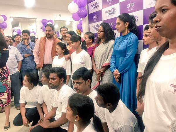 Mithali Raj inaugurated first disable beauty salon in Chennai