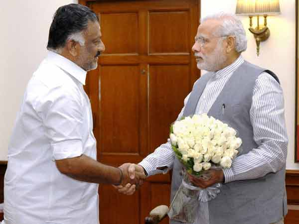 O.Paneerselvam to meet Modi in Delhi