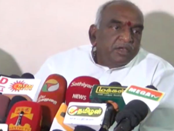 Pon.Radhakrishnan interview in Salem