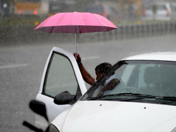 Rain in Chennai: people are happy