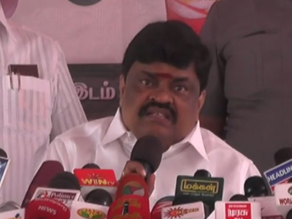 Dinakaran group wants minister Rajendra Balaji to be probed