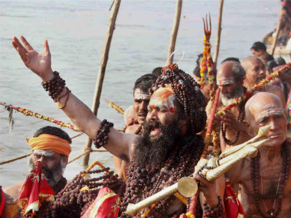 Sadhus Refuse to Take Holy Dip in Ganga Due to Pollution