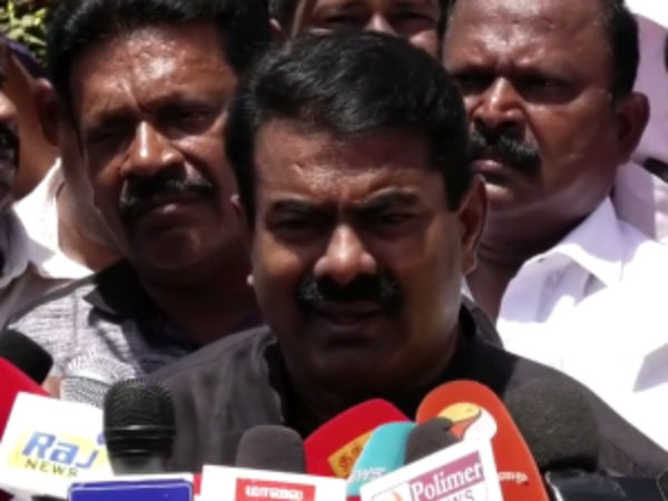 Seeman welcomes Kamalhaasan's visit at Ennore