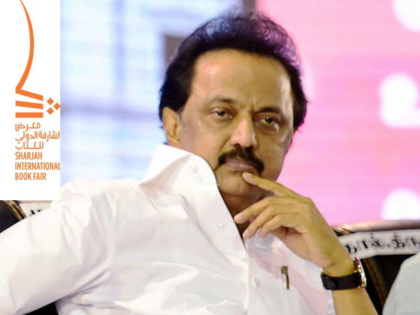 MK Stalin to attend the 36th edition of Sharjah International Book Fair