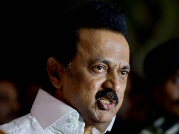 MK Stalin questions over Amit Shah Son Companies