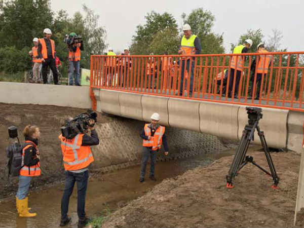 World's first ever 3D-printed bridge has opened in the Netherlands