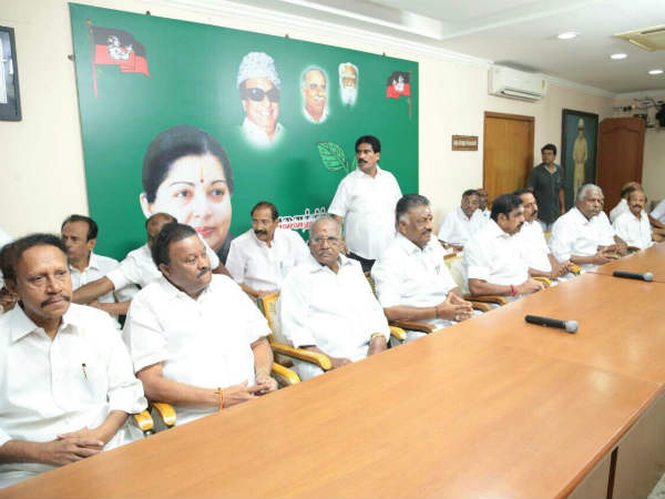AIADMK reconstitutes its parliamentary board with EPS
