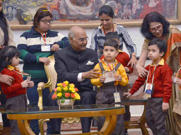 Children from various States received National and State-level awards for achievements and Bravery Works