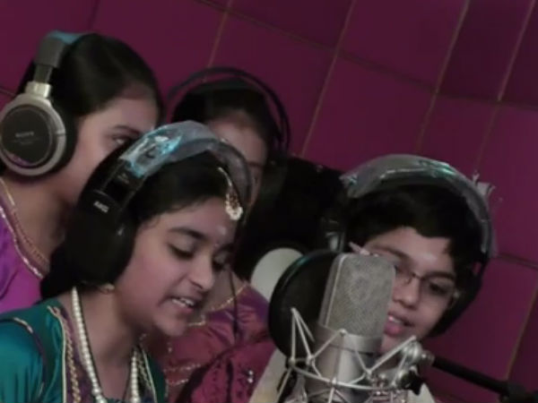 Special video of Bharathiyaar song for Children's day
