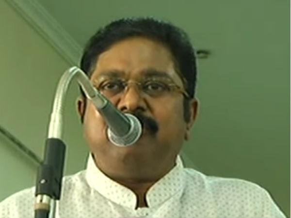 அங்கே எட்டப்பர்கள் அதிகம் இருக்கிறார்கள்... நாங்களே உண்மையான அதிமுக - தினகரன்