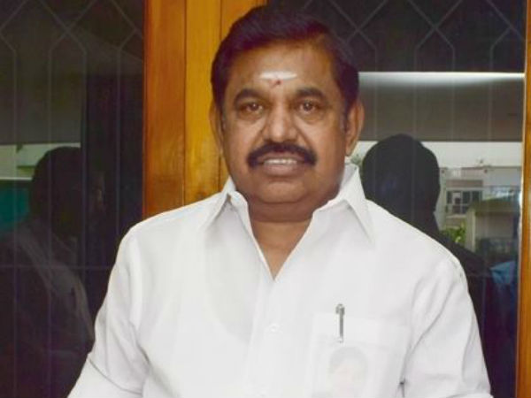 TN CM Palanisamy says that no water stagnation in Chennai city