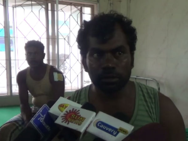 Rameswaram Fishermen shot by Indian Coast Guard