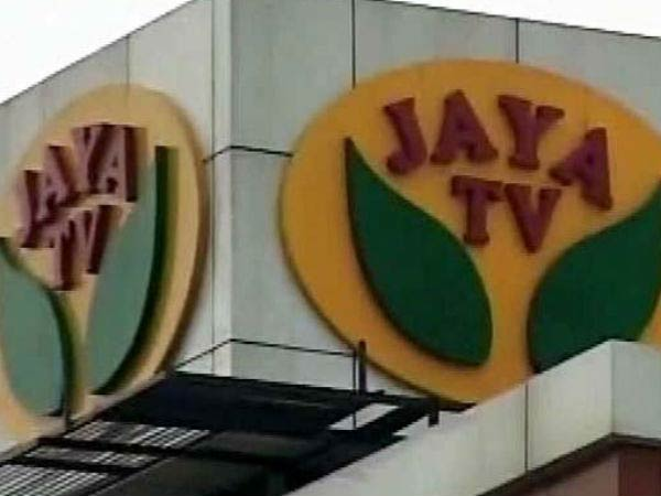I-T officials conducting raids at Jaya TV office second day