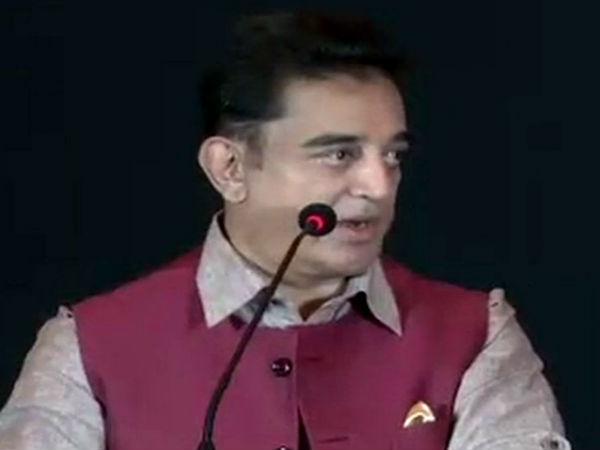 Kamal hassan severly condemns corruption