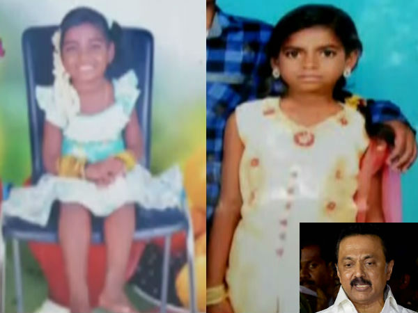Stalin paid tribute to Kodungaiyur girl childs who died yesterday due to eletroution