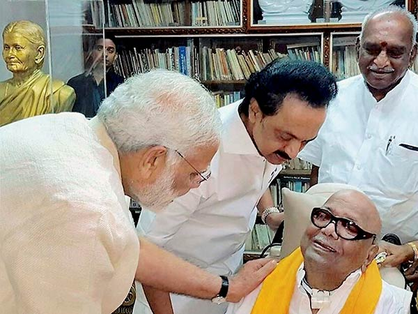 Stalin dubs meeting of Modi and Karunanidhi unpolitical