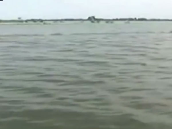 Nagapattinam districts villages were flooding in rain water