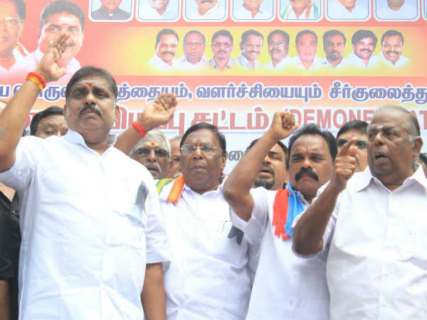 Narayanaswamy shows his political maturity in Black day protest