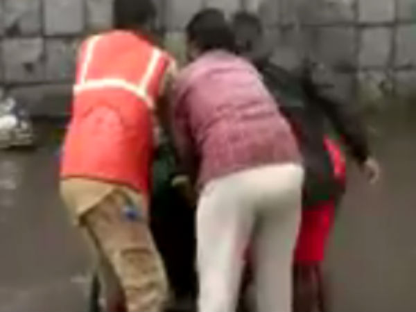Chennai corporation workers got electric shock in Puliyanthoppu