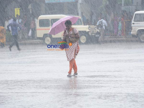 In the past 24 hours, the highest number of rains recorded in Palayamkottai