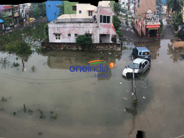 Chennai's Madipakkam area isolated due to rain water stagnation
