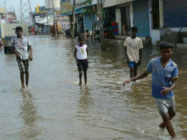 Due to heavy rain holiday announced for schools in Thiruvarur