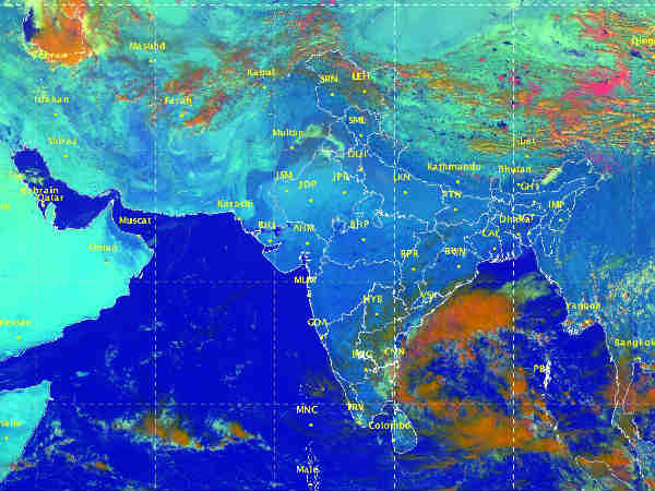 Chennai Metrological centre says about weather report