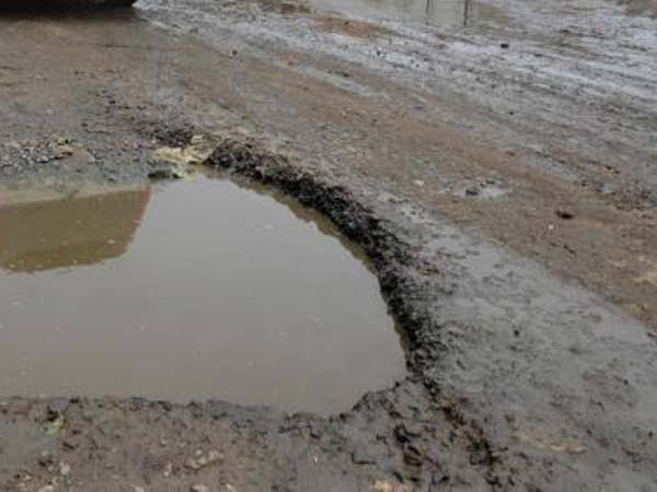 Damaged roads in Nellai: People affected severly