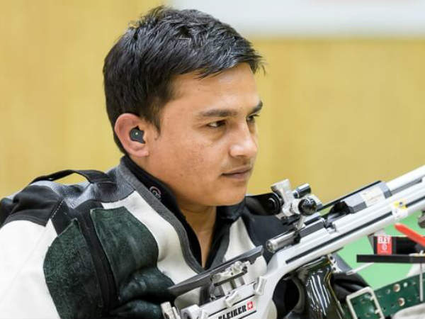 Satyendra bags gold in the Commonwealth shooting championship