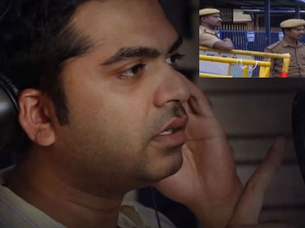 Police protection in Simbu's house
