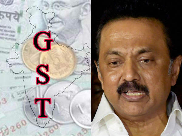 18% GST tax is enough, MK Stalin suggests